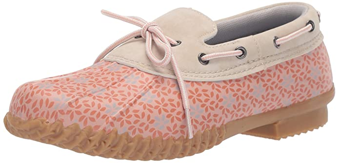 JBU by Jambu Women's Gwen Garden Ready Rain Shoe, Blush Floral, 8 M US