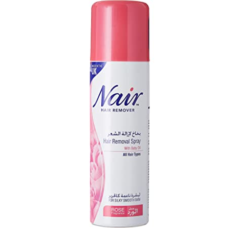 Nair Hair Removal Spray With Baby Oil Lemon Fragrance 200 Ml