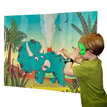 amazon triceratops funnlot birthday party games for boys