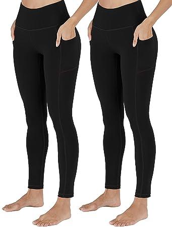 Amazon.com: Toreel - Pantalones de yoga con bolsillos para ...