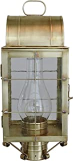 product image for Brass Traditions 120 SHAB Medium Post Lantern 100 Series, Antique Brass Finish 100 Series Post Lantern