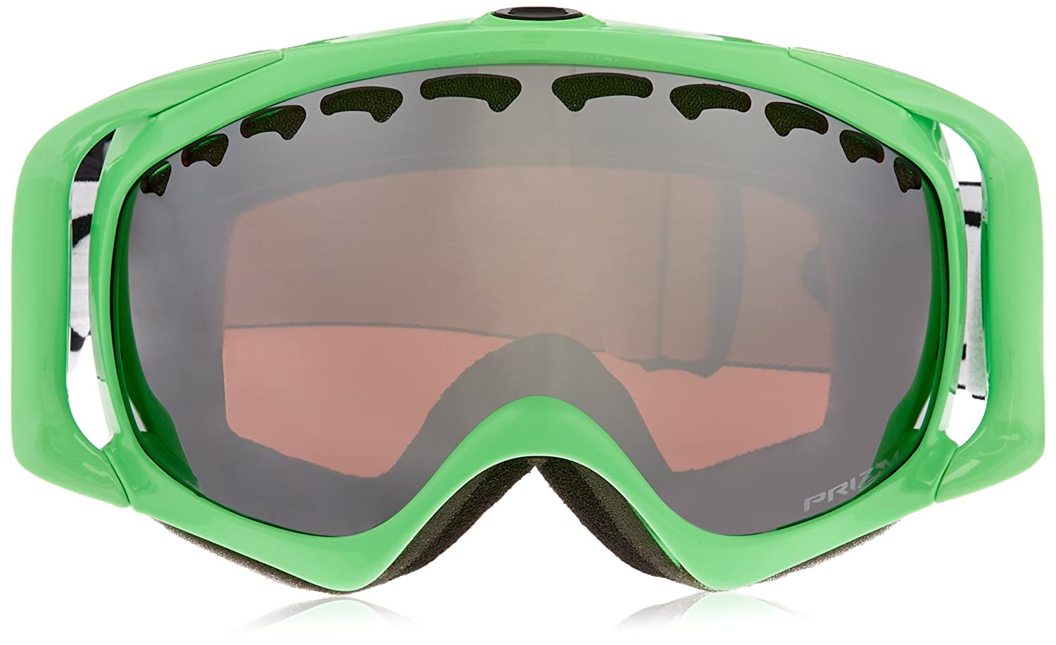 b143c213cd Amazon.com   Oakley Crowbar Adult Prizm Snowsport Snowmobile Goggles  Eyewear - Jet Black Rose   One Size Fits All   Sports   Outdoors