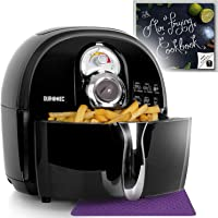 Duronic AF1 /B Healthy Oil Free 1500W Air Fryer Multicooker - Free Recipe Book (Certified Refurbished)