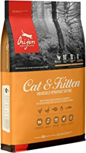 ORIJEN High-Protein, Grain-Free, Premium Quality Meat, Dry Cat Food