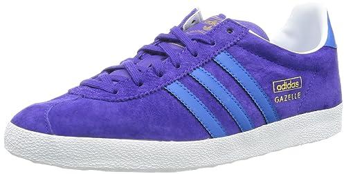 adidas Gazelle OG, Zapatillas de Estar por casa para Mujer, Violeta-Violett (Blast Purple F13/Running White/Bluebird), 37 1/3 EU: Amazon.es: Zapatos y ...