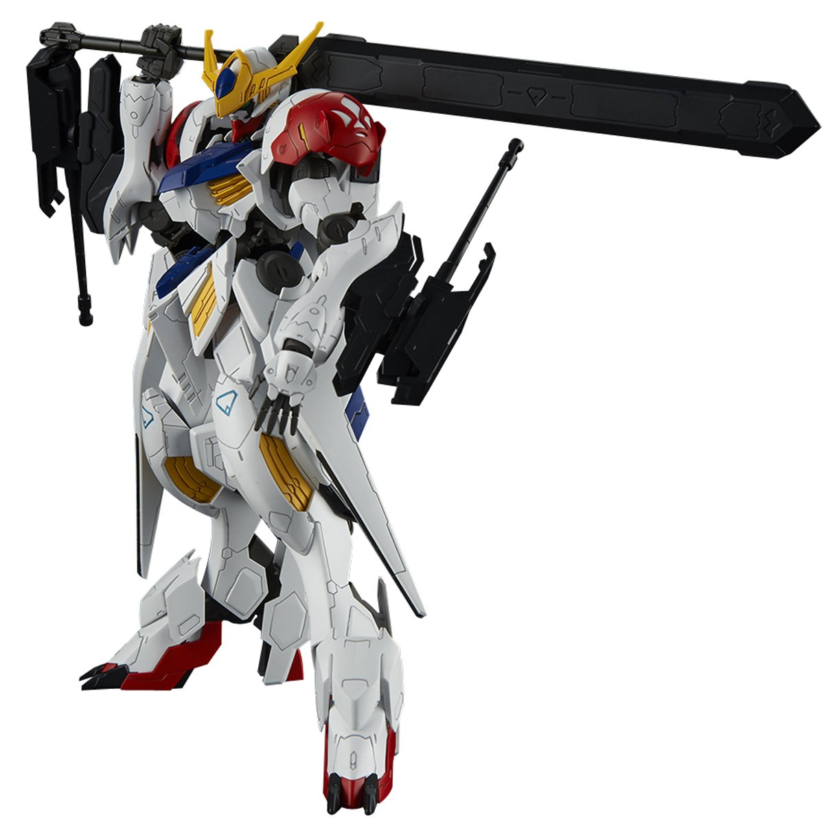 Bandai Hobby Full Mechanics 1/100 IBO Gundam Barbatos Lupus Gundam IBO: Season 2 Building Kit