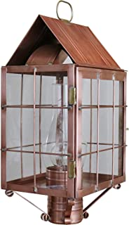 product image for Brass Traditions 310 SHAC Large Post Lantern 300 Series, Antique Copper Finish 300 Series Post Lantern