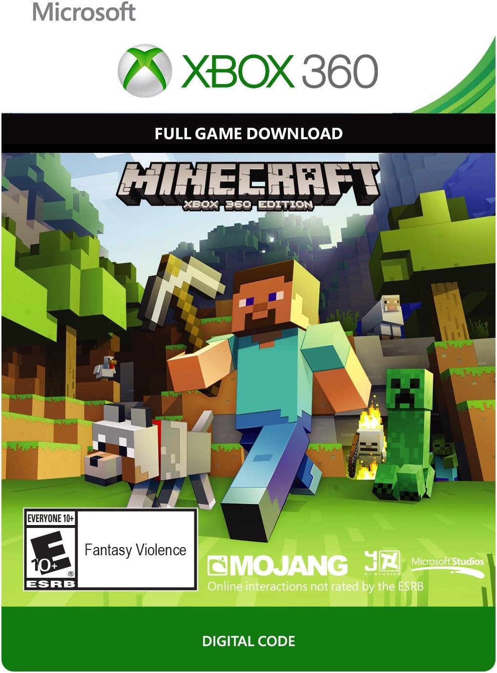 Amazoncom Minecraft Xbox Digital Code Video Games - Skins gratis minecraft xbox 360