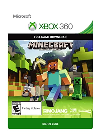 Brand new Minecraft Xbox One Full Game Digital Download Code Card