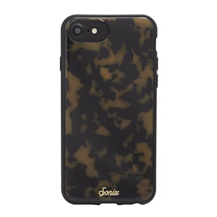 Sonix Brown Tort Cell Phone Case [Military Drop Test Certified] Protective Luxe Tortoise Shell Leopard Print Case for Apple iPhone 6, iPhone 7, iPhone ...