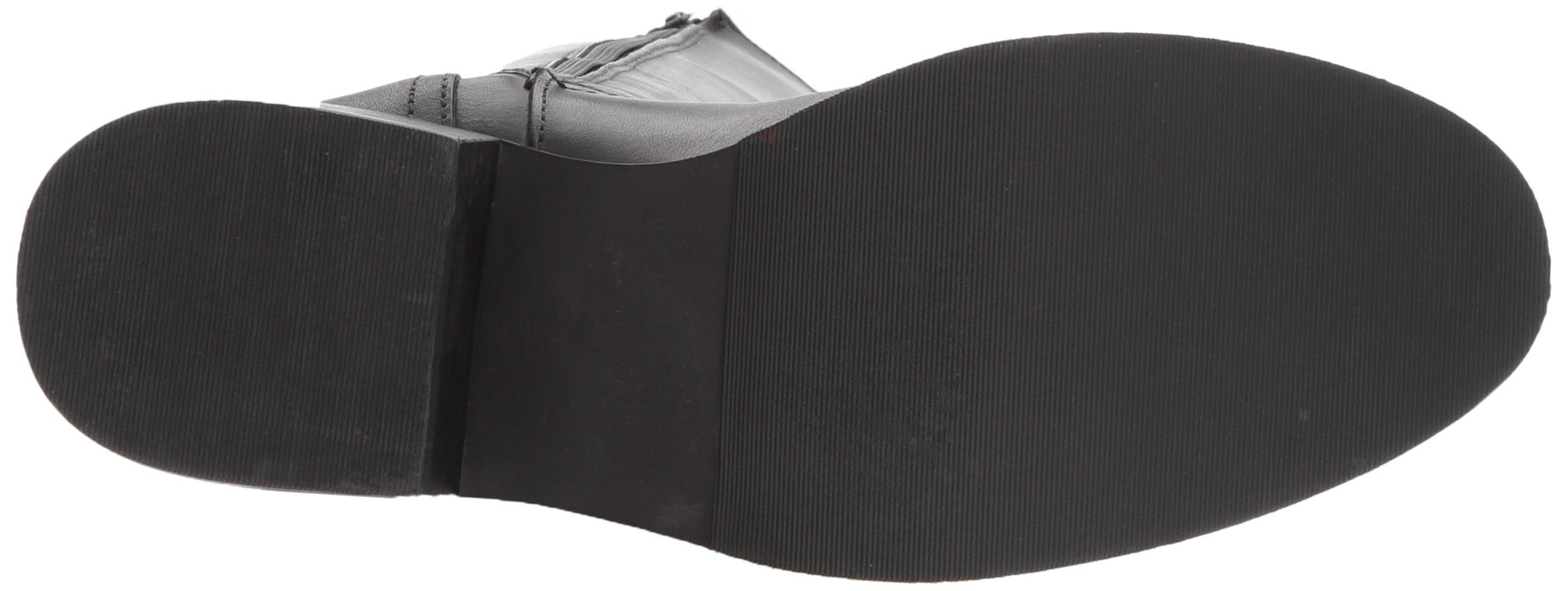 Steve Madden Women's Lover Western Boot, Black Leather, 8.5 M US by Steve Madden (Image #3)