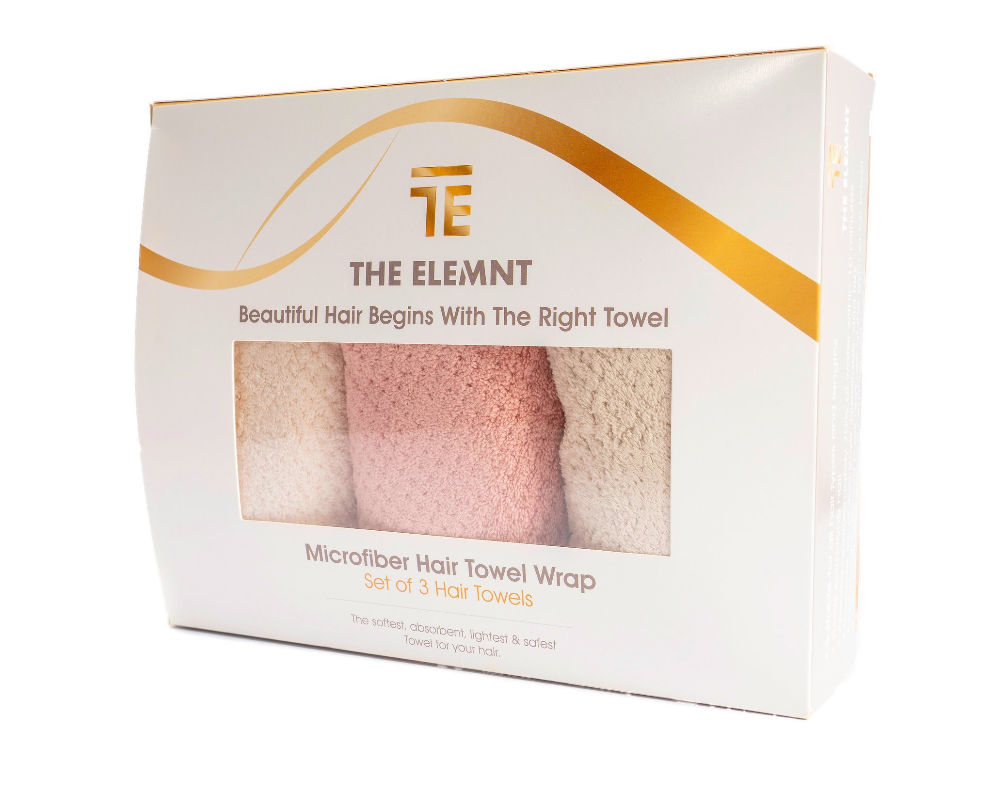 """Microfiber Hair Towel Wrap For Women 
