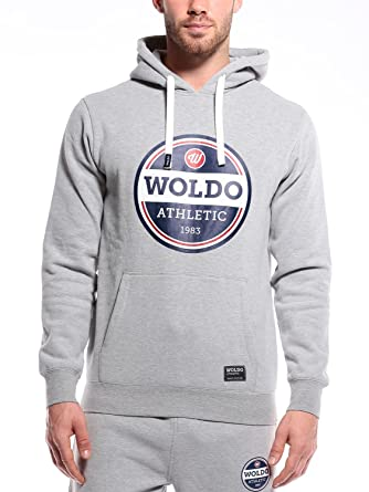 WOLDO Athletic Herren Hoodie Kapuzenpullover Slim Fit  Amazon.de  Bekleidung dd1dd33264
