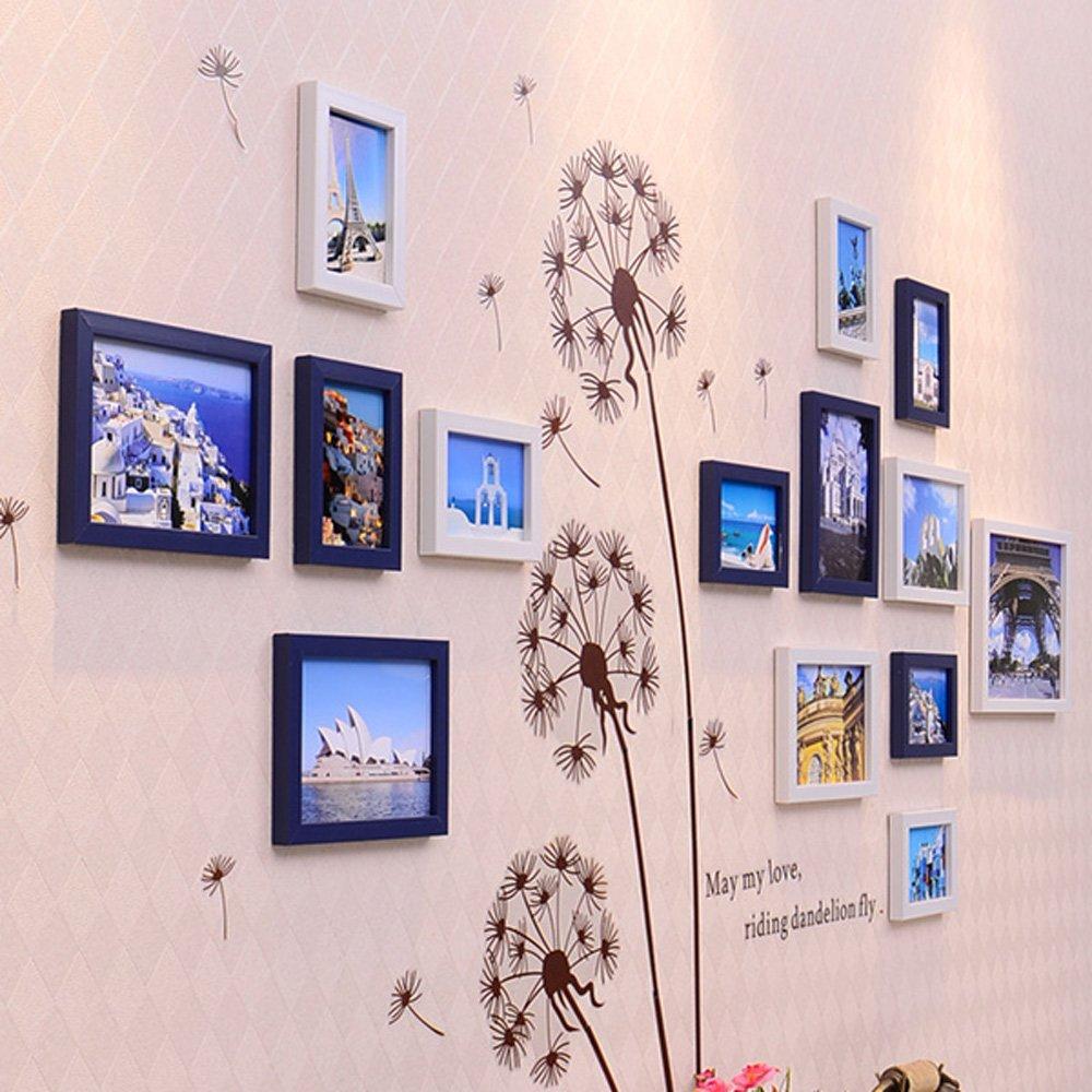 【在庫処分大特価!!】 写真壁、13フレームリビングルームベッドルーム写真壁、クリエイティブ組み合わせ壁フレーム装飾フォトウォール B076P36T7S 2# 2# B076P36T7S, エアホープ エアコンと家電の通販:5804e20d --- arianechie.dominiotemporario.com
