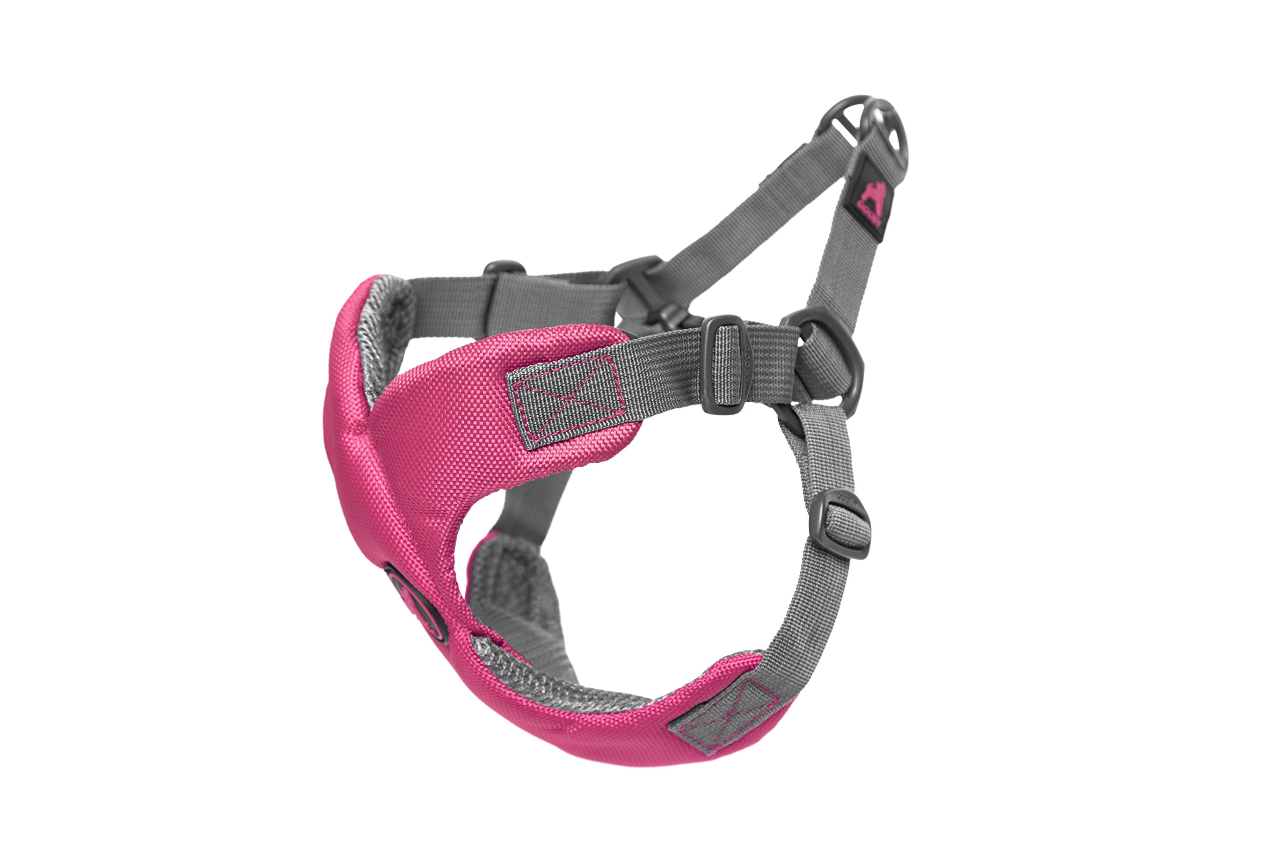 [Old Version] Gooby Escape Free Memory Foam Harness for Small Dogs, Pink, Large by Gooby (Image #2)
