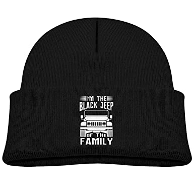 I M The Black Jeep The Family Beanies Knit Hat Skull Cap Men