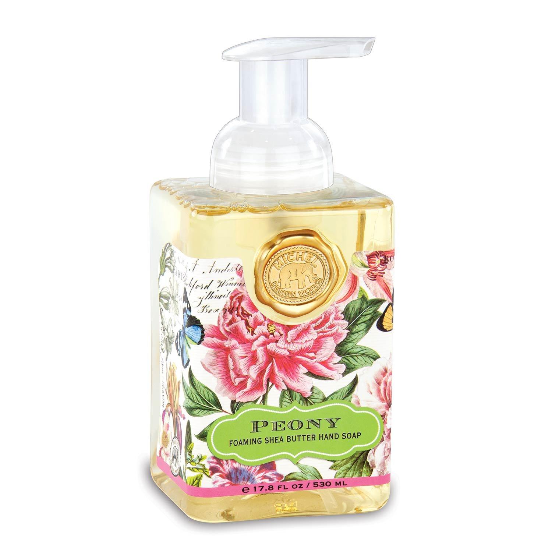 Michel Design Works Foaming Hand Soap, 17.8 Fluid Ounce, Peony