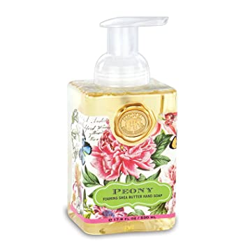 Michel Design Works Foaming Hand Soap, 17.8 Fluid Ounce, Peony