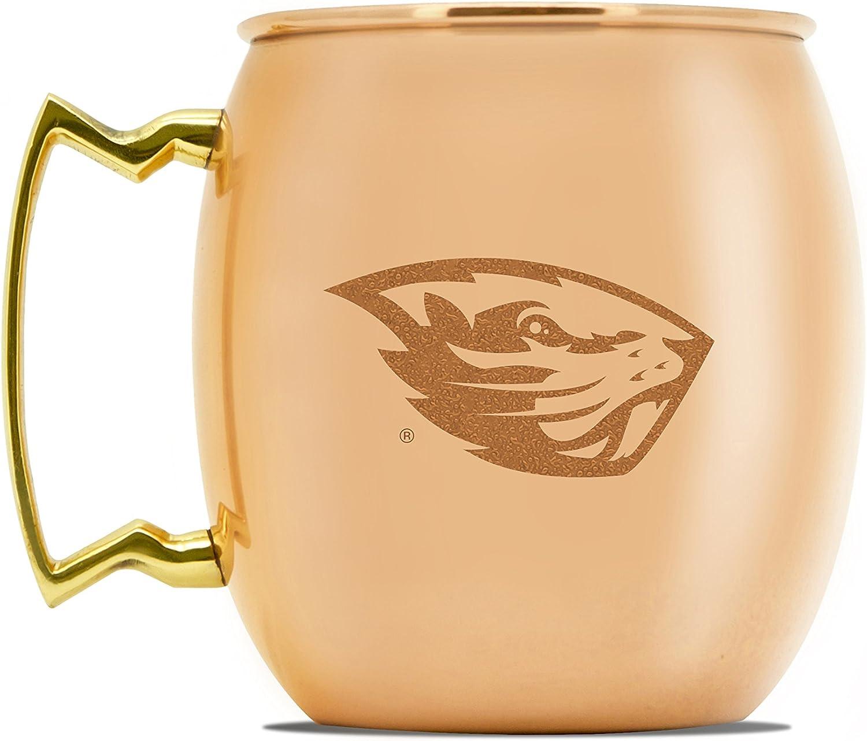 NCAA Oregon State Beavers 16oz Copper Moscow Mule Mug
