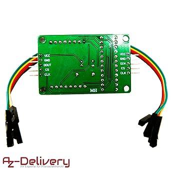 AZDelivery ⭐⭐⭐⭐⭐ 5 x MAX7219 8x32 4 en 1 Dot Matriz Modulo de Pantalla LED Matrix para Arduino con ebook Gratis!