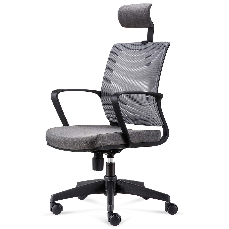 3c3a0685f11115 INTEY Bürostuhl Ergonomischer Schreibtischstuhl