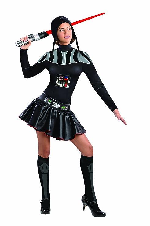 sc 1 st  Amazon.com & Amazon.com: Star Wars Secret Wishes Female Darth Vader Costume: Clothing