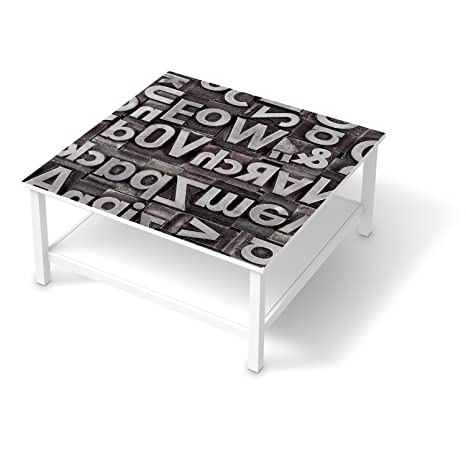 Vinilo adhesivo para IKEA Hemnes mesa de café 90 x 90 cm ...