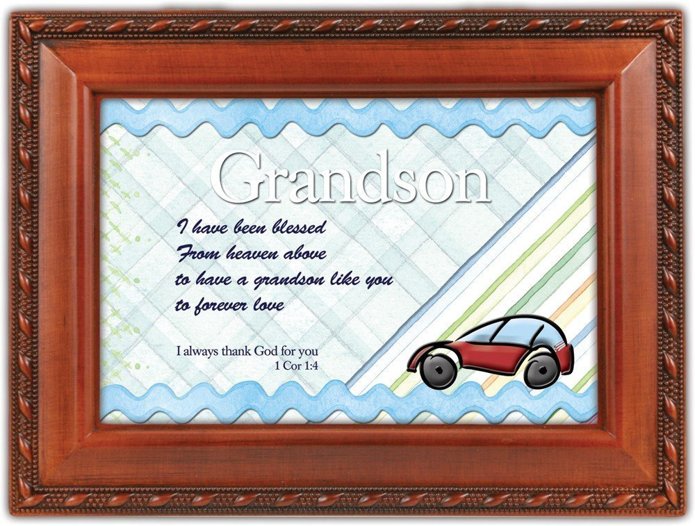 【送料無料/新品】 Grandson Me Woodgrain Inspirational Cottage Garden Traditional MusicボックスPlays Cottage Jesus Loves B0090RB4X6 Me B0090RB4X6, アクアペットサービス:5a783259 --- svecha37.ru