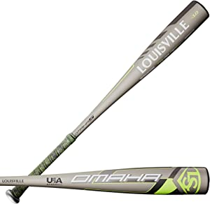 "Louisville Slugger 2020 Omaha (-10) USA Baseball Bat - 26"""
