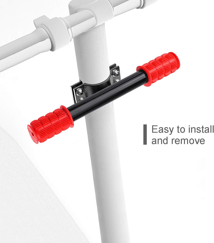 Ajustable Barra de Agarre para Ni/ños Manillar para Patinete El/éctrico,Aleaci/ón de Aluminio Extensor Soporte de Faro GPS para Xiaomi M365//pro