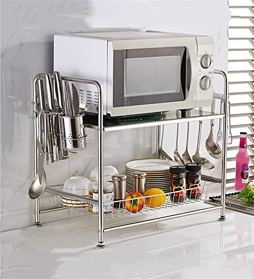 Muebles de cocina 304 Racks de cocina de acero inoxidable Horno de ...