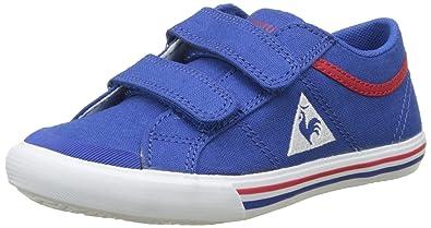 Le Coq Sportif Unisex-Kinder Saint Gaetan PS Cvs Sneaker, Grau (Limestone/Multicolor Gris), 35 EU