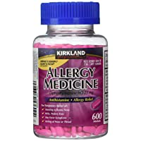 Diphenhydramine HCI 25 Mg - Kirkland Brand - Allergy Medicine and AntihistamineCompare...