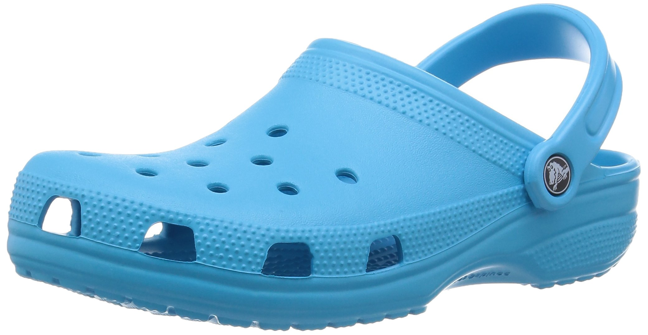 crocs Unisex Classic Clog,Electric Blue,6 M US Men's / 8 M US Women's