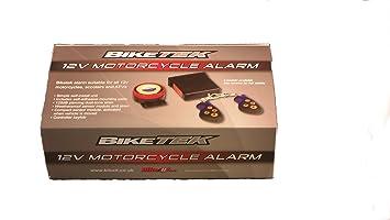 biketek remote motorcycle alarm full model security amazon co uk rh amazon co uk