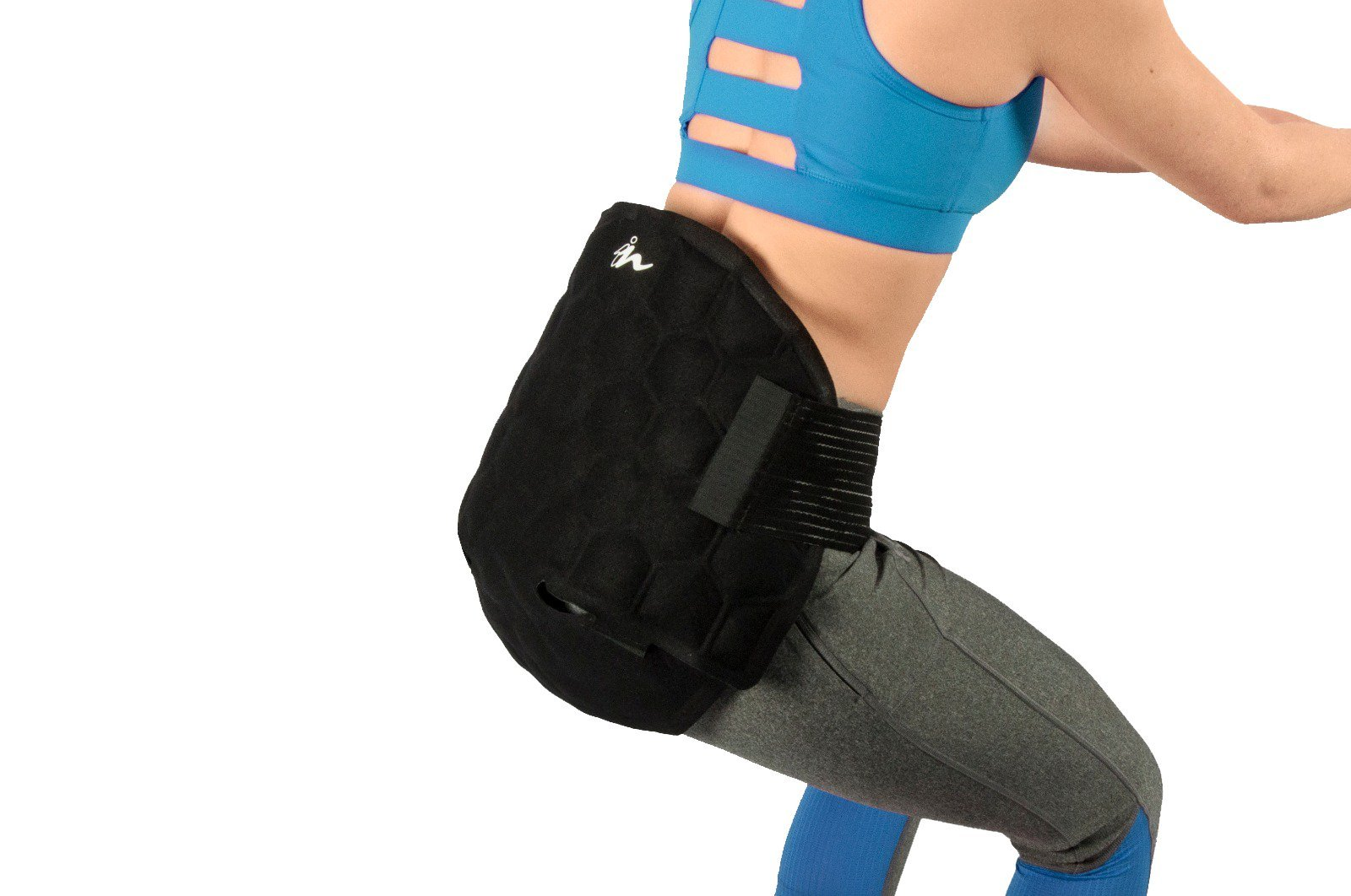 Sciatica Lumbar Pain Relief Cooling Wrap, Injury Recovery Wrap, Clinically Tested and Proven by Doctors by Nanohealth, Inc