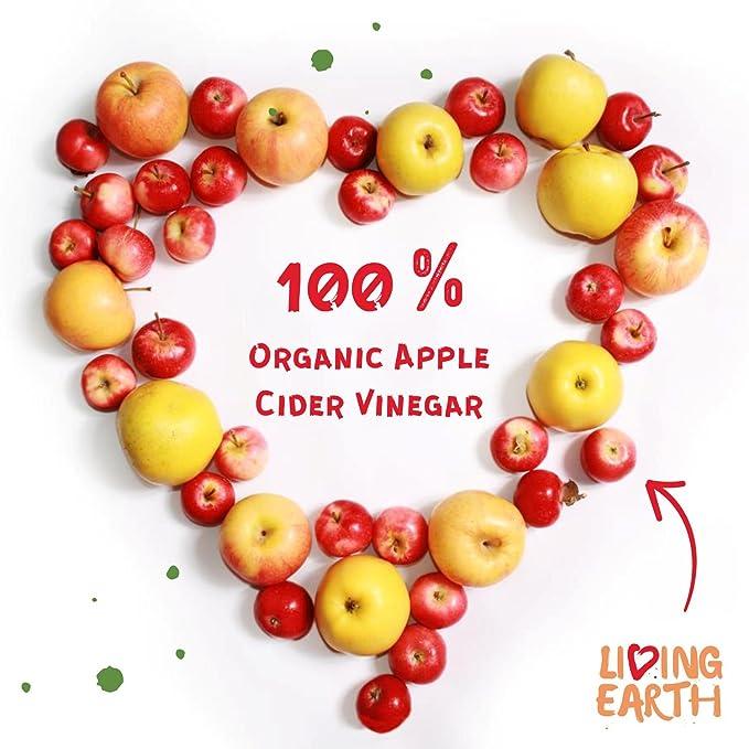 Living Earth - Vinagre de manzana ecológico