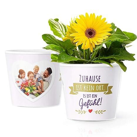Wohnungseinweihung Geschenk Blumentopf (ø16cm) | Deko ...