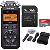 Tascam DR-05 Digital Recorder with Tascam Accessory Kit and 32GB Micro Card