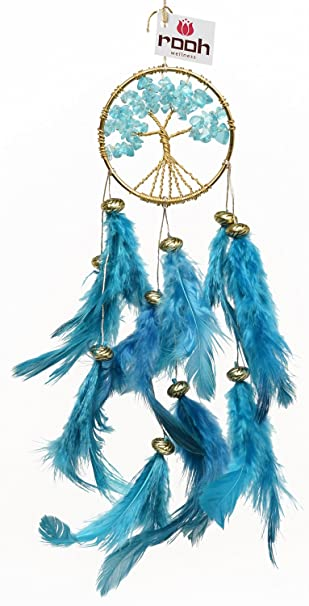 Rooh dream catcher healing tree handmade hangings for positivity can be used as