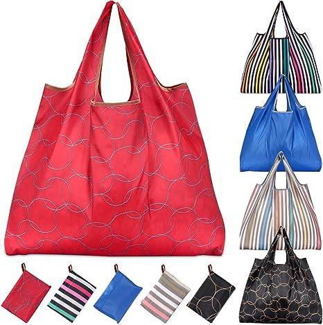 Red Eco Bag Reusable Eco Bag Merchandise Eco Bag Set of 20