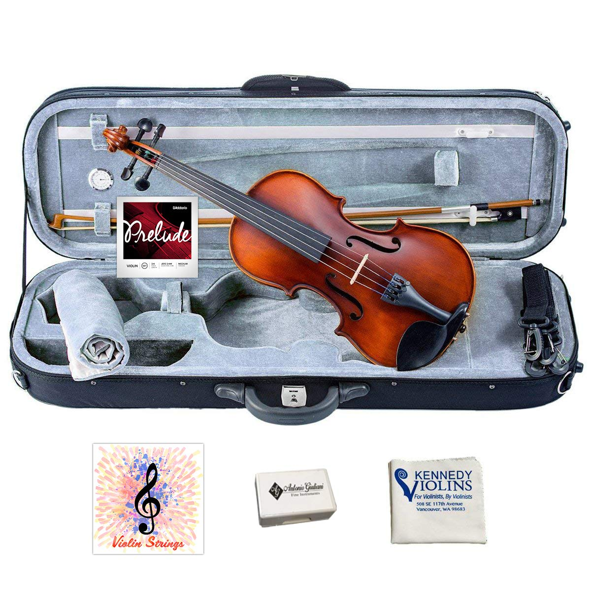 Bunnel Pupil Student Violin Outfit (1/2) by Kennedy Violins