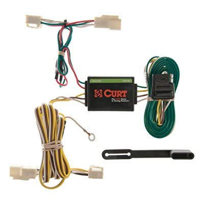 CURT 55341 Vehicle-Side Custom 4-Pin Trailer Wiring Harness for Select Toyota 4Runner: Automotive