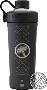 BlenderBottle C04269 Marvel Comics Radian Insulated Stainless Steel Shaker Bottle, 26-Ounce, Thor