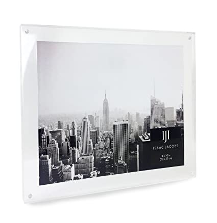 Amazon.com - Isaac Jacobs Wall Mountable Acrylic Picture Frame ...