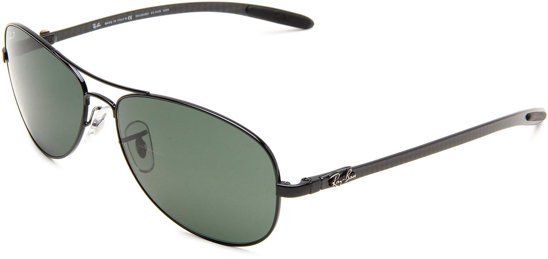 058492a97f Ray-Ban Men s Polarized Sunglasses RB8301 59 mm  Rayban  Amazon.co.uk   Clothing