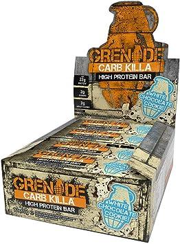 Grenade - Galleta blanca del chocolate de la barra de la ...