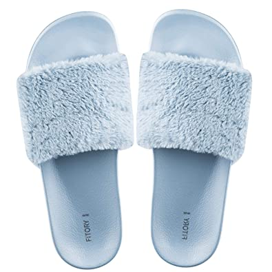 826c621cad53 FITORY Ladies Sliders Slippers