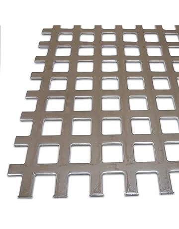 25 x 35 cm B/&T Metall Aluminium Lochblech 1,0 mm stark Rundlochung /Ø 3 mm versetzt RV 3-5 Gr/ö/ße 250 x 350 mm
