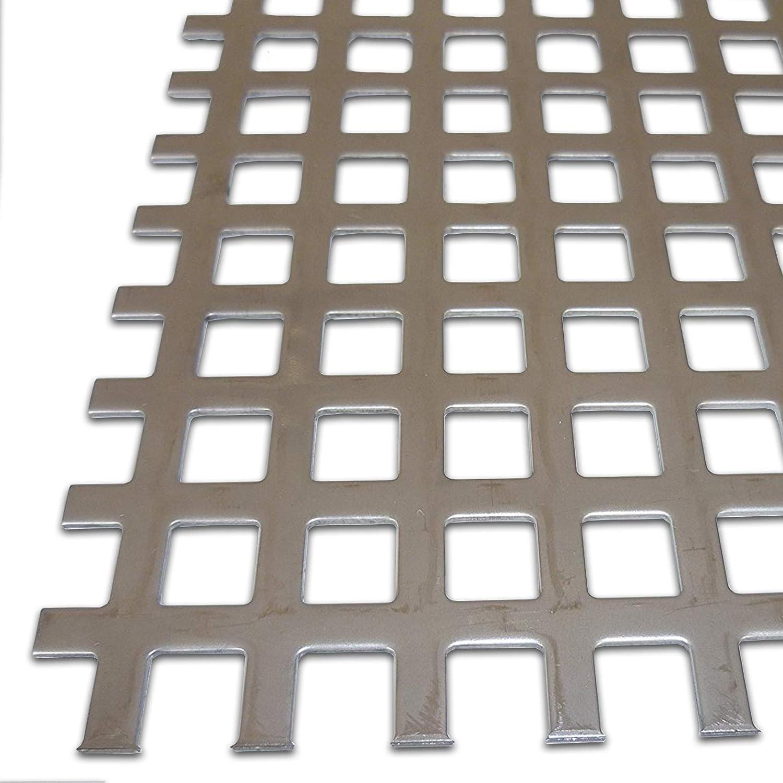 Größe 400 x 600 mm 40 x 60 cm B&T Metall Edelstahl V2A Blech-Zuschnitt geschliffen K240 0,80 mm stark foliert